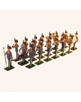 Band of the RAF Regiment 21 piece set SF21RM Painted