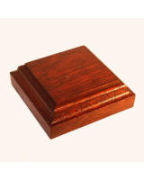 B-013 Wooden Base/ Plinth 6,50 x 6,50 Cm