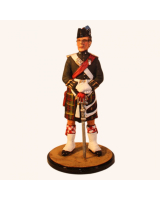 Sqn80 111 Officer Queen's Own Highlander 1983 No. 1 Dress Painted