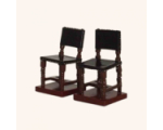 826 10 Toy Soldier The square-backed chairs x 2 Kit