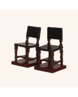 0826 10 Toy Soldier The square-backed chairs x 2 Kit
