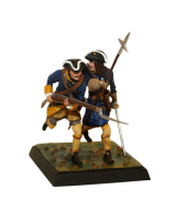 DO-J-001 - Two Caroleans attack - Digital-Sculpt-Figures - 54mm Painted in Matt