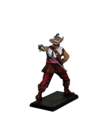 DO-J-004 - The Duelist - Digital-Sculpt-Figures - 54mm Unpainted