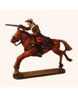 30HE-AS-001 Dragoon Mounted with Drawn Sword Holger Eriksson 30mm HM Kit
