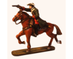 RC 002 Dragoon Mounted with Drawn Pistol Holger Eriksson 30mm HM Kit
