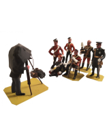 ToL 058 – Victorian British Officers c.1895 – Size 54mm Painted