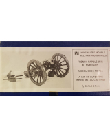 ME-G04 Model Soldier - French Napoleonic 6 Howitzer  - Unpainted