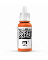 AV Vallejo Model Color VAL851 - Leuchtend Orange  - Paint