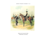 Postcard No.039 Prince of Wale's Own Yourkshire Hussars