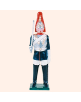 506 Toy Soldier Set Trooper Blues and Royal Painted