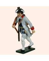 0623 3 Toy Soldier Private French Infantry La Reine Regiment Kit