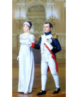 NF0012 Couple Napoleon and Josephine Painted