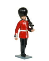 555 Toy Soldier Set Guardsman Grenadier Guards Painted
