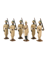 0033 Toy Soldiers Set 29th Punjab Infantry Painted