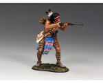 "TRW044 ""Little Wolf"" Cheyenne warrior carries both bow and arrows King and Country"