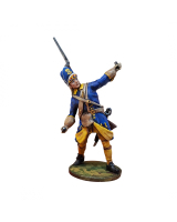 DO-J-006 - Swedish Grenadier throws Grenade - Digital-Sculpt-Figures - 54mm Painted