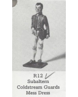 R12 - Subaltern Coldstream Guards Mess Dress - Unpainted