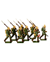 0809 Toy Soldiers Set German Infantry 1914 Painted