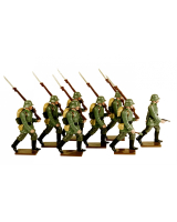 813 Toy Soldiers Set German Infantry 1916 Painted