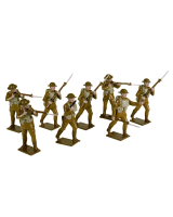 815 Toy Soldiers Set United States Infantry 1918 Painted