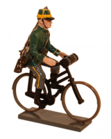 828 Toy Soldier Set Infantry bicycling - 1st Carabinier Regiment Painted