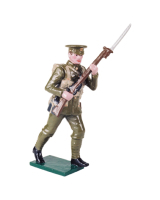 542 Toy Soldier Set British Infantry Private 1914 Painted