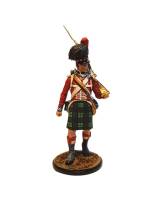 CS90 19 Private The Black Watch 42nd Highlanders 1815 Painted
