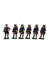 831 Toy Soldier Set The Belgian Army at Second Battle of Ypres Painted