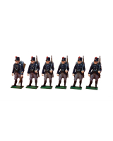 0832 Toy Soldier Set The Belgian Army at Second Battle of Ypres Painted