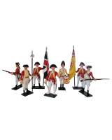 0202 Toy Soldiers Set British 10th Regiment Infantry Painted