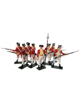 0204 Toy Soldiers Set British 10th Regiment Infantry Painted