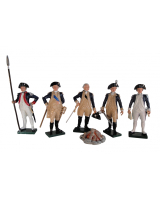 250 Toy Soldiers Set American Generals Painted