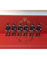 832 Toy Soldier Set The Belgian Army at Second Battle of Ypres Painted
