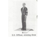 B11 - SS Officer smoking in evening dress - Unpainted