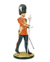 DM90 04 Drum Major Royal Welch Fusiliers Painted