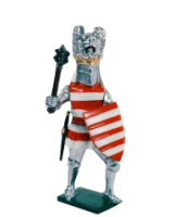K09 Toy Soldier Set The King of Hungary Painted