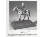 H013 - Royalist Cuirassier Officer 1642 - Unpainted