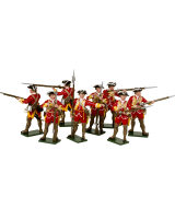 0602 Toy Soldiers Set British Infantry Painted