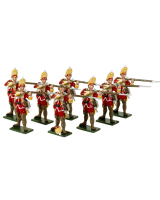0605 Toy Soldiers Set British Grenadiers Painted