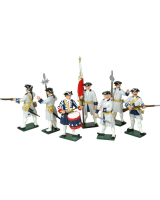 0606 Toy Soldiers Set French Infantry Painted