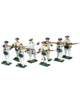 0607 Toy Soldiers Set French Infantry Painted