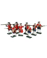 0608 Toy Soldiers Set Swiss Regiment Karrer Painted