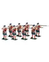 0614 Toy Soldiers Set 42nd Highland Regiment of Foot Painted