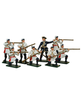0620 Toy Soldiers Set Compagnies Franches de la Marines Painted