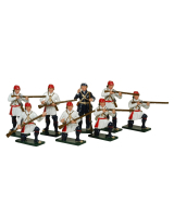 0621 Toy Soldiers Set Compagnies Franches de la Marines Painted