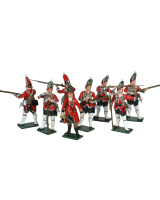 0651 Toy Soldiers Set British Grenadiers Painted