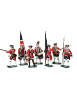 0653 Toy Soldiers Set British Infantry Painted