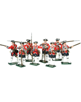 0654 Toy Soldiers Set British Infantry Painted