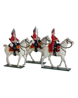0656 Toy Soldiers Set The Scots Grey's British Cavalry Painted