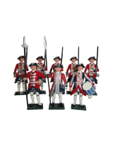 0663 Toy Soldiers Set Garde Suisse Painted